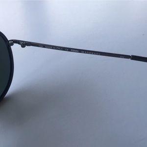 Fendi Accessories - Fendi Aviator Sunglasses - Black/Gray
